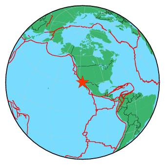 Earthquake Magnitude 3 6 Baja California Mexico 2018 May 09