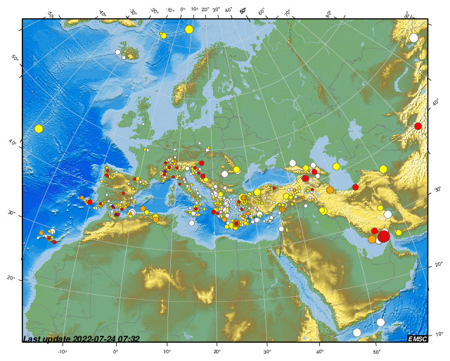 Earthquakes earthquake today latest earthquakes in the world emsc gumiabroncs Choice Image